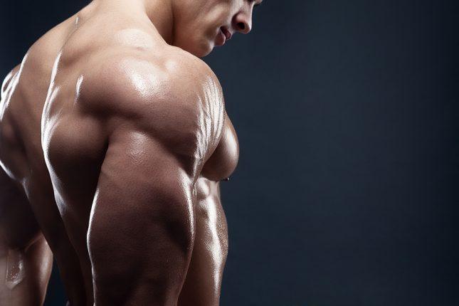 övningar för effektiv utveckling av trapezius muskler